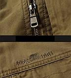 Jeeiplion original 100% бавовна Чоловіча куртка в стилі мілітарі джип, фото 9