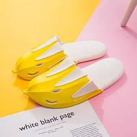 Тапочки банан желтые