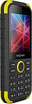 Мобильный телефон Nomi i285 X-Treme Black-Yellow Гарантия 12 месяцев, фото 3