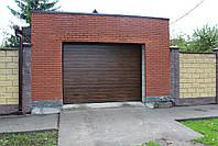 Alutech (Алютех) серия Prestige секционные гаражные ворота  ш3400, в2100, фото 2