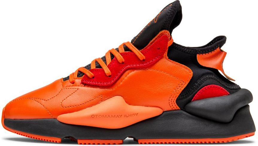Жіночі кросівки Adidas Y-3 Kaiwa Icon Black Orange EF7523, Адідас У-3