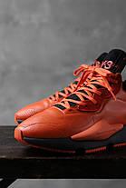 Жіночі кросівки Adidas Y-3 Kaiwa Icon Black Orange EF7523, Адідас У-3, фото 2