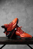 Жіночі кросівки Adidas Y-3 Kaiwa Icon Black Orange EF7523, Адідас У-3, фото 3