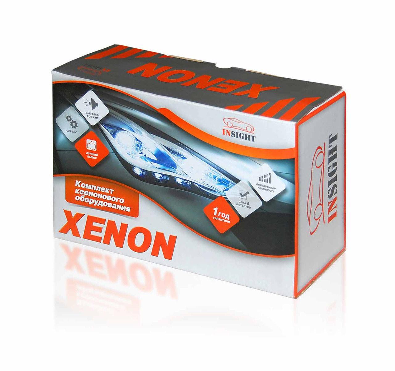 Ксенон Insight HB4 9006 6000k