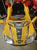Перукарське дитяче Крісло-Машинка для стрижки дітей (жовта блакитна салатовий), фото 4