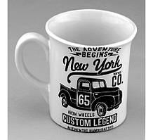 Керамическая кружка для чая Нью Йорк