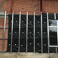 Установка системы навесного вентилируемого фасада