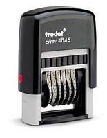 Нумератор Trodat пласт. 6-разрядный 4 мм