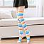 Яркие гетры разных расцветок гольфы выше колена веселые чулки конопля белая Код 09-01029, фото 9