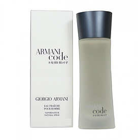 Туалетная вода мужская Giorgio Armani code summer  pour homme 100ml