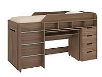 Кровать чердак Легенда, кровать детская, кровать со столом, фото 1