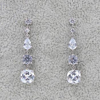 Серьги-подвески вечерние BIZHUNET 100-earrings1