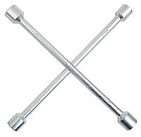 Ключ балонний хрестоподібний 17х19х21х22 мм Technics 49-380 | баллонный крестообразный