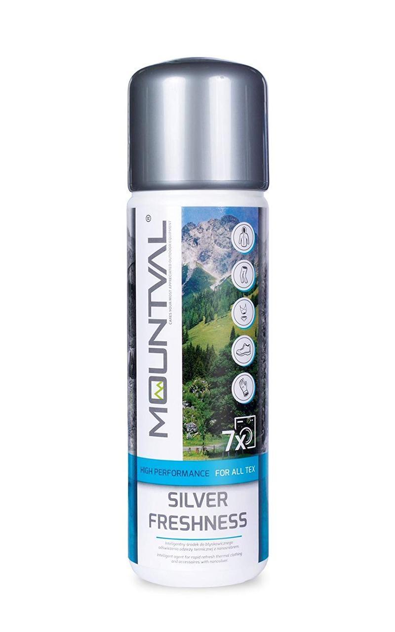 Антибактериальное средство для стирки с серебром Mountval Silver Freshness, 315 мл