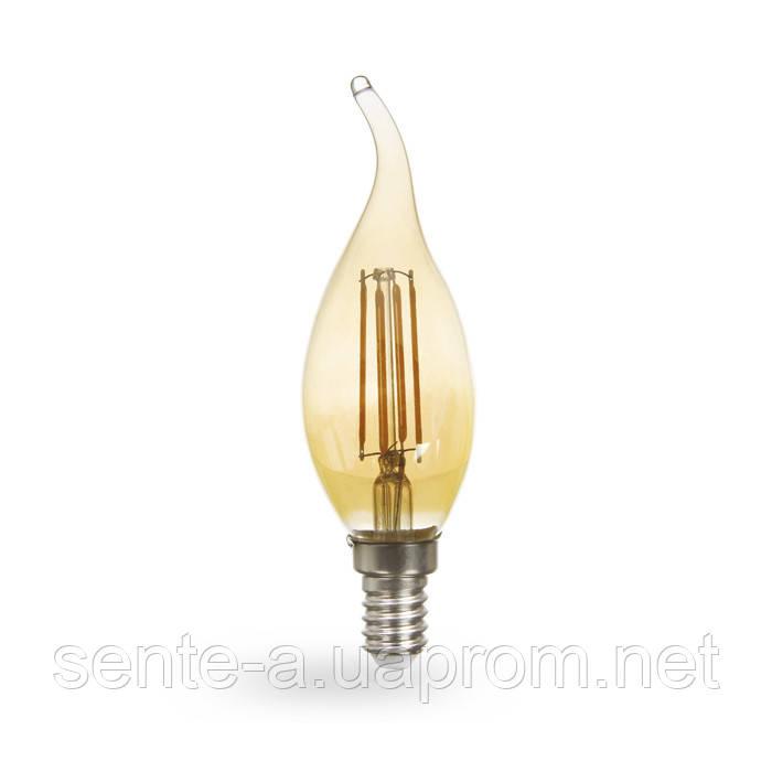 Светодиодная лампа Feron LB-59 золото 4W E14 2200K
