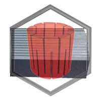 Графитовые лопатки для вакуумно-компрессорного оборудования, фото 1