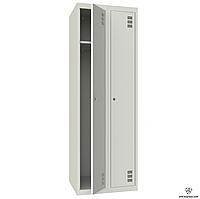 Шкаф металлический гардеробный ШМ-2-2-300х1800
