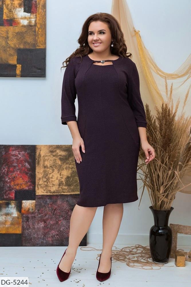Стильне плаття (розміри 50-58) 0226-31