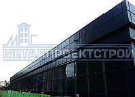 Фасадная кассета для реконструкции здания