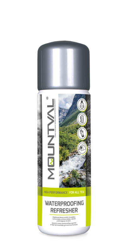 Пральний засіб для водонепроникних матеріалів Mountval Waterproofing Refresher 300 ml