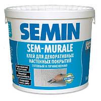 SEM MURALE- Высококачественный водно-дисперсионный клей (10 кг) Semin