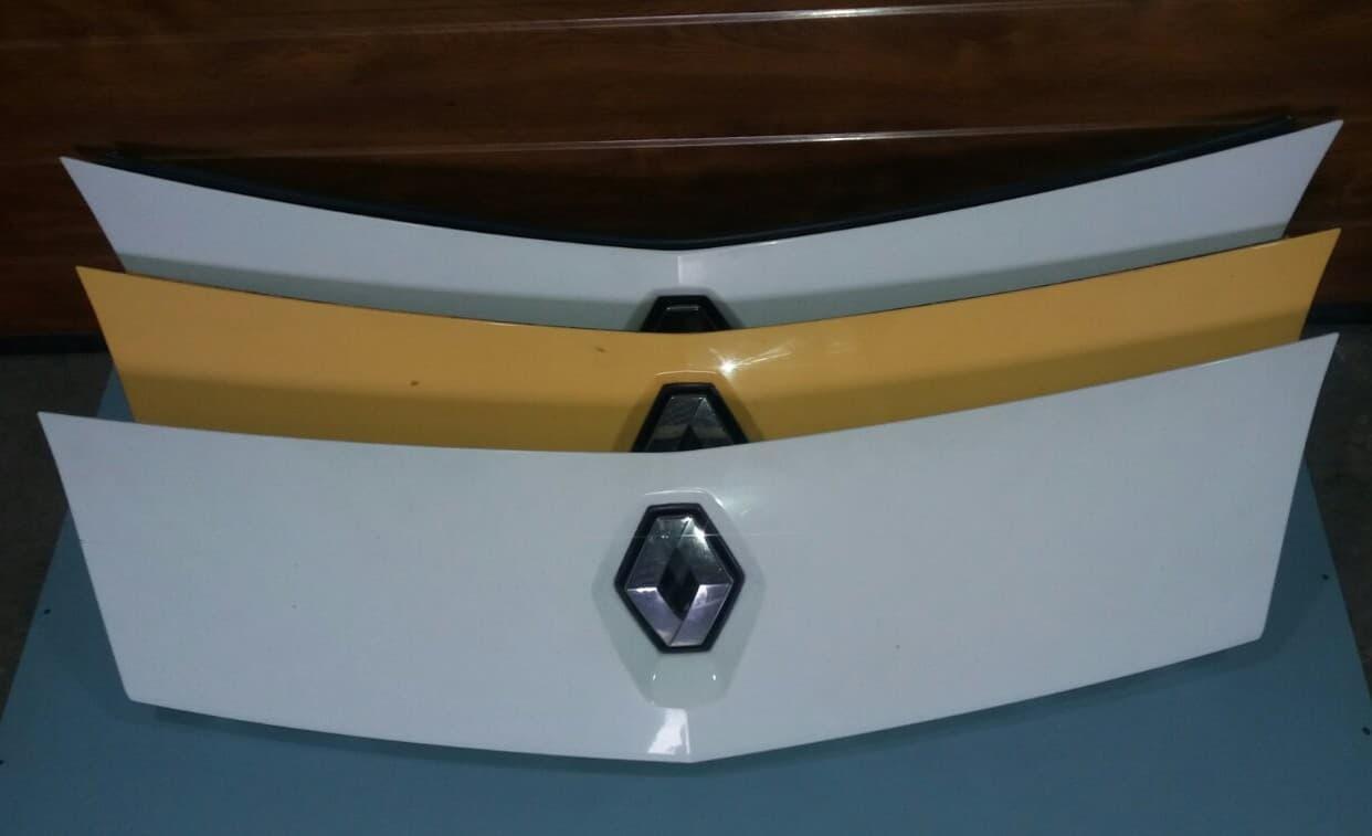 Решётка радиатора 8200499017 Renault Kangoo Рено Кенго Канго Кангу 2008-2013 г.в.