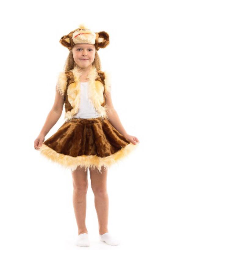 Карнавальный костюм Обезьяна девочка