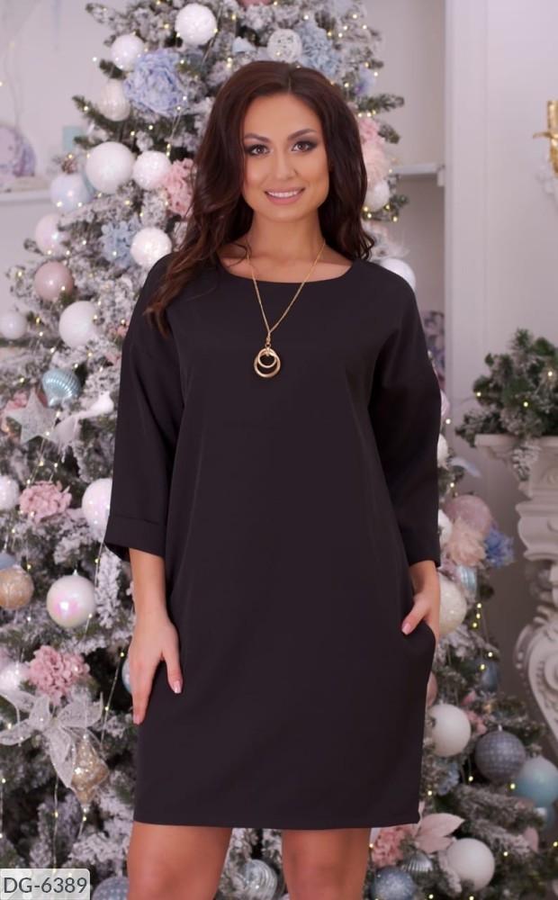 Стильное платье  (размеры 48-62) 0226-43