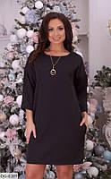Стильное платье  (размеры 48-62) 0226-43, фото 1