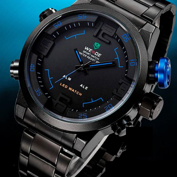 Спортивные часы с подсветкой для мужчин Weide