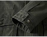 JP original 100% бавовна Чоловіча куртка в стилі мілітарі демисезон джип, фото 7