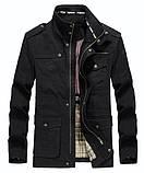JP original 100% бавовна Чоловіча куртка в стилі мілітарі демисезон джип, фото 3