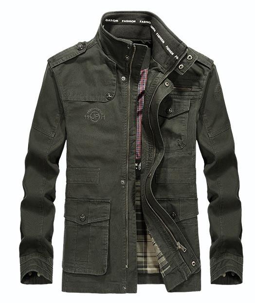JP original 100% бавовна Чоловіча куртка в стилі мілітарі демисезон джип