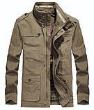 JP original 100% бавовна Чоловіча куртка в стилі мілітарі демисезон джип, фото 2