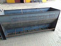 Годівниця для свиней від виробника на 12 місць,1,5 мм