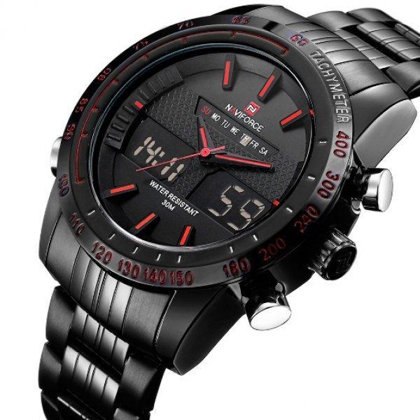 Компактные спортивные мужские часы на сальном ремешке Naviforce  Есть вопросы? Напиши нам или позвони