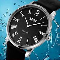 Лаконичные оригинальные мужские часы Skmei