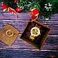 Классические золотистые мужские часы скелетоны Winner, фото 5