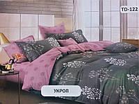 Комплект постельного белья Тиротекс Бязь Укроп Полуторный 144х215