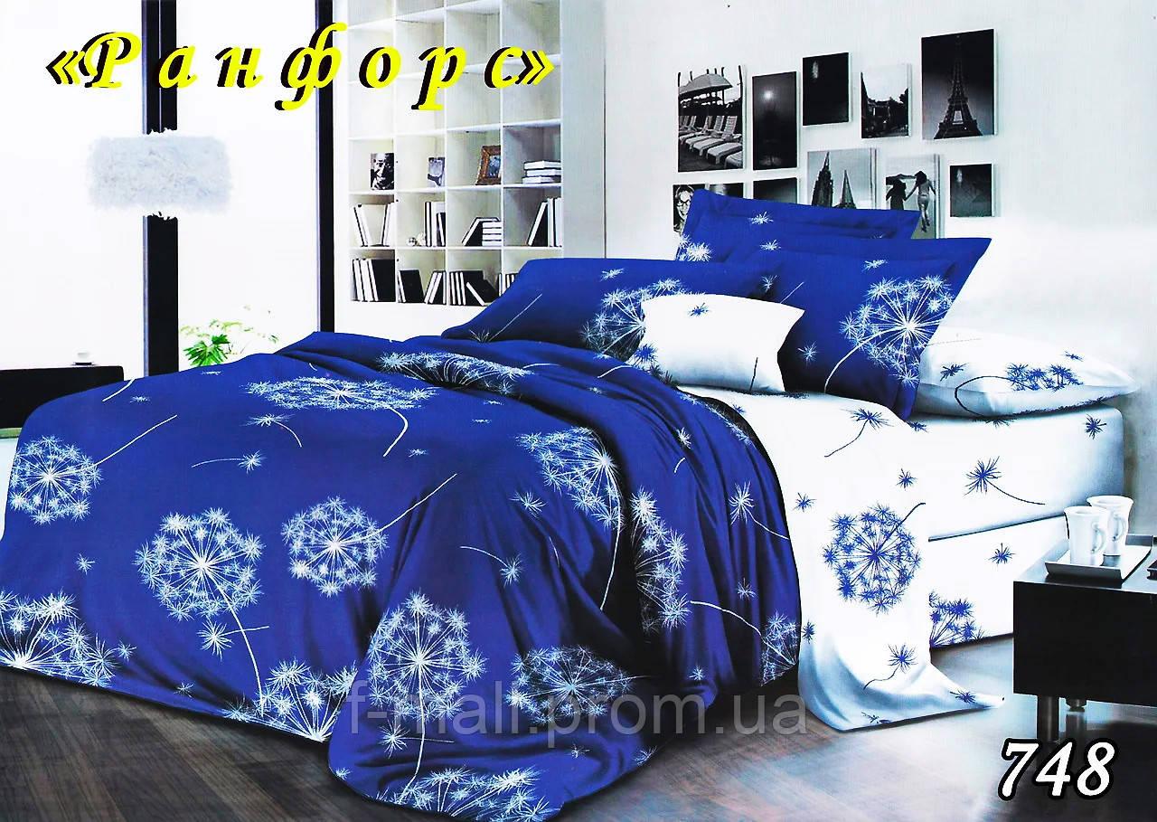 Комплект постельного белья Тет-А-Тет (Украина) евро ранфорс (748)
