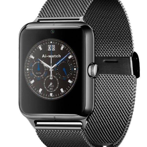 Функциональные мужские умные часы в стильном дизайне UWatch