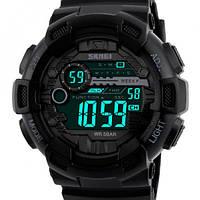 Мужские функциональные наручные часы под спортивный стиль одежды Skmei