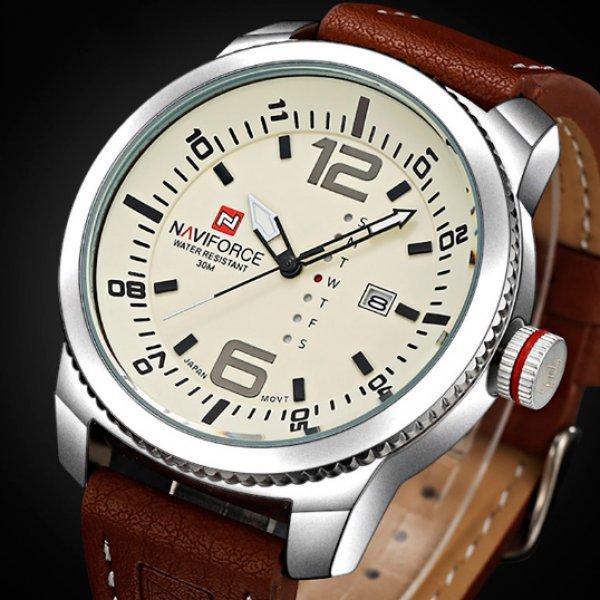 Элегантные мужские часы в стиле кэжуал Naviforce