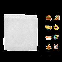 Бумажный пакет Уголок Белый 170*170, 100шт/уп 1500шт/ящ