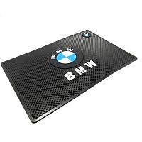 Автомобильный коврик липучка BMW