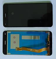 Дисплей для Huawei Nova Lite 2017 (SLA-L22) модуль в сборе с тачскрином, черный, оригинал