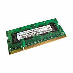 Оперативная память  Samsung SODIMM DDR2 1GB 800 MHZ (1288218)