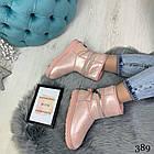 Женские розовые угги, натуральная замша, фото 7