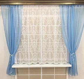 "Кухонные шторы ""Майли Вайт"" №2"
