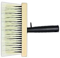 Пензель-макловиця № 2, 180х80мм (дерево, ручка ПВХ) Favorit 01-702  |кисточка для краски лака Favorit 01-702 кисть-макловица